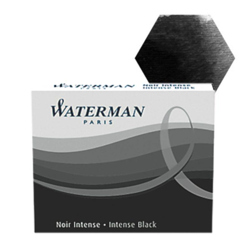 Μελάνι πένας αμπούλες Waterman Std Μαύρο 8 τεμ.