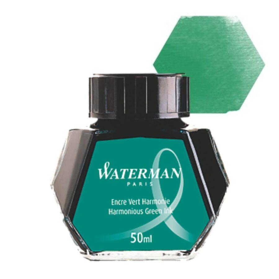 Μελάνι πένας μπουκάλι Waterman Πράσινο 50ml