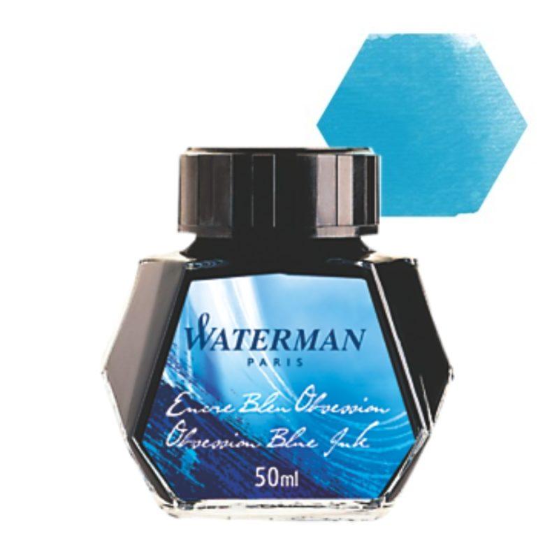 Μελάνι πένας μπουκάλι Waterman Τυρκουάζ 50ml