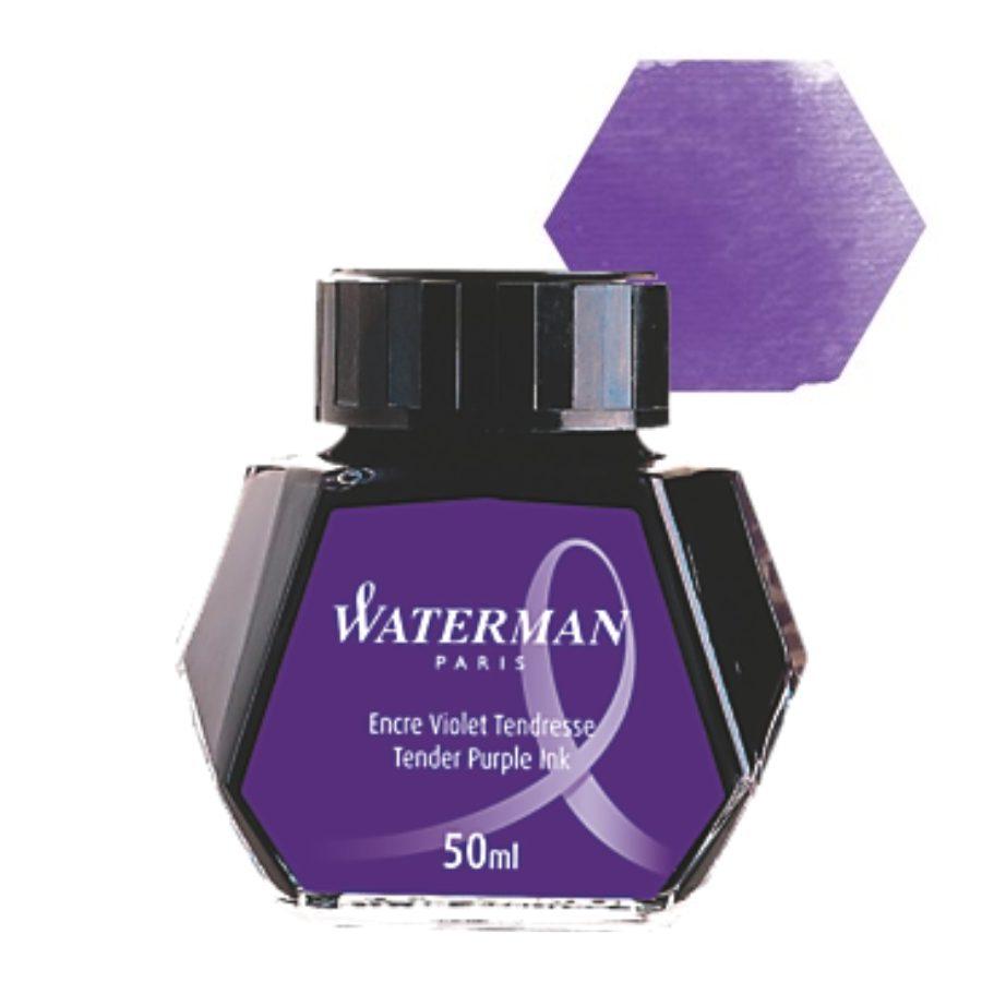 Μελάνι πένας μπουκάλι Waterman Μωβ 50ml