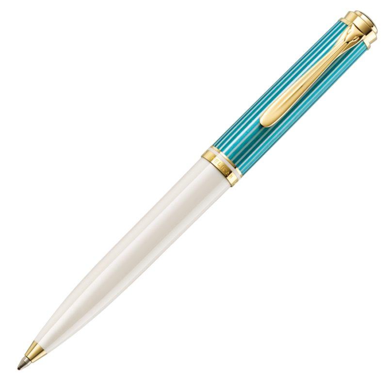 Στυλό Pelikan Souverän® K600 Turquoise-White