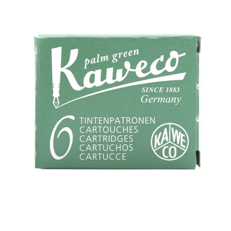 Αμπούλες μελάνης Kaweco Palm Green