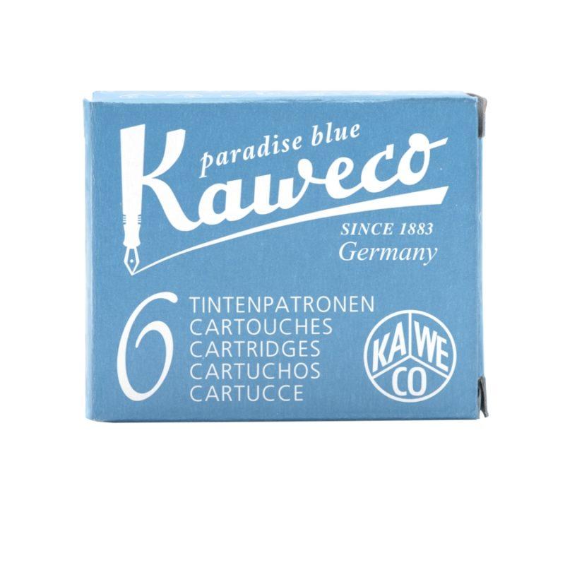 Αμπούλες μελάνης Kaweco Paradise Blue