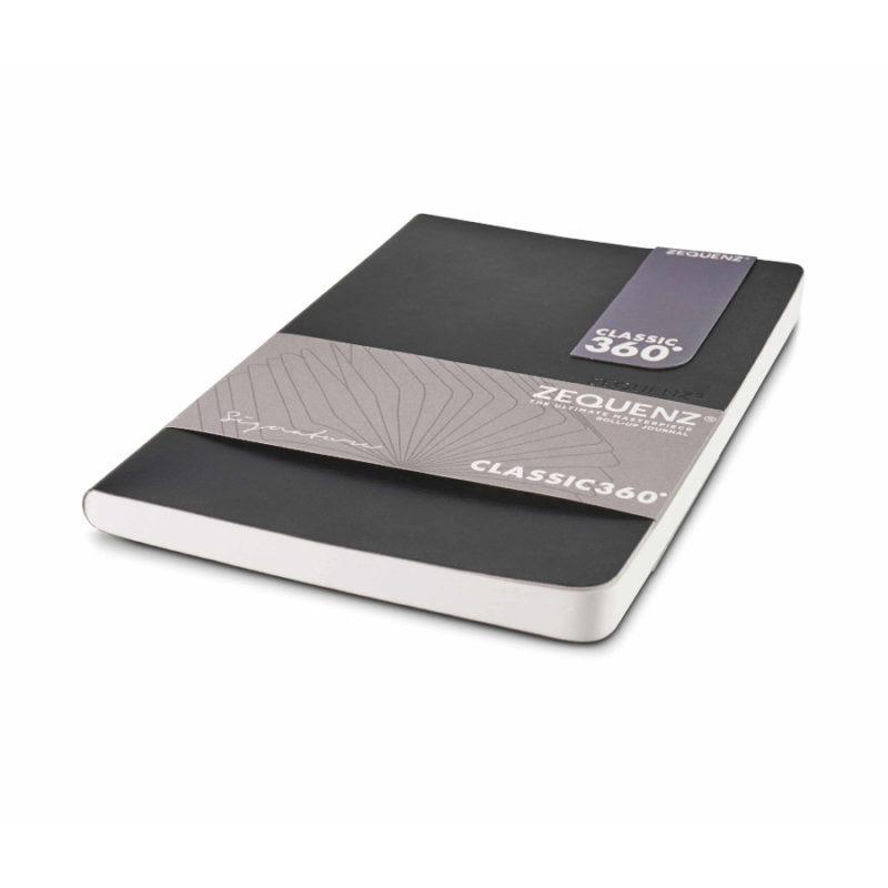 Σημειωματάριο Zequenz B6Lite Black Lined