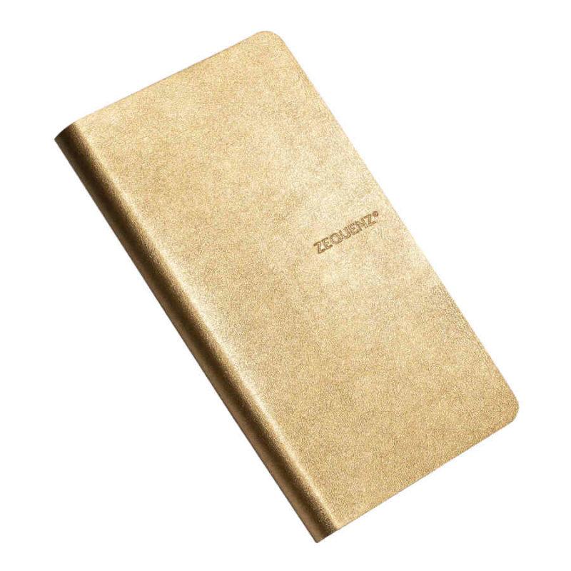 Σημειωματάριο Zequenz B6Slim Gold