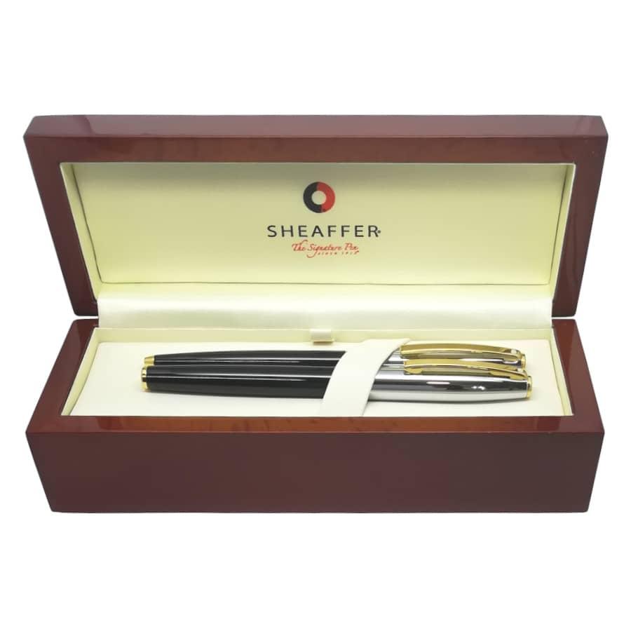 Sheaffer Sagaris Set Black-Chrome Πένα-Στυλό