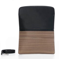 Pininfarina Folio Bag Leather Strap Walnut